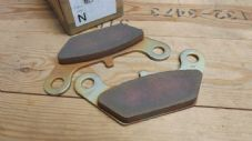 Viking.Disk brake shoe set.